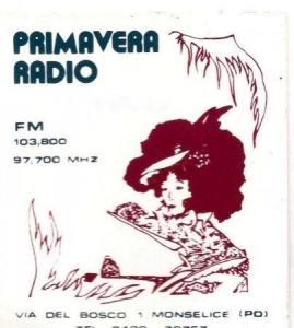 PRIMAVERA RADIO